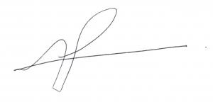 Lorraine Thomas Signature