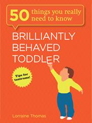 Brilliantly Behaved Toddler Book Cover